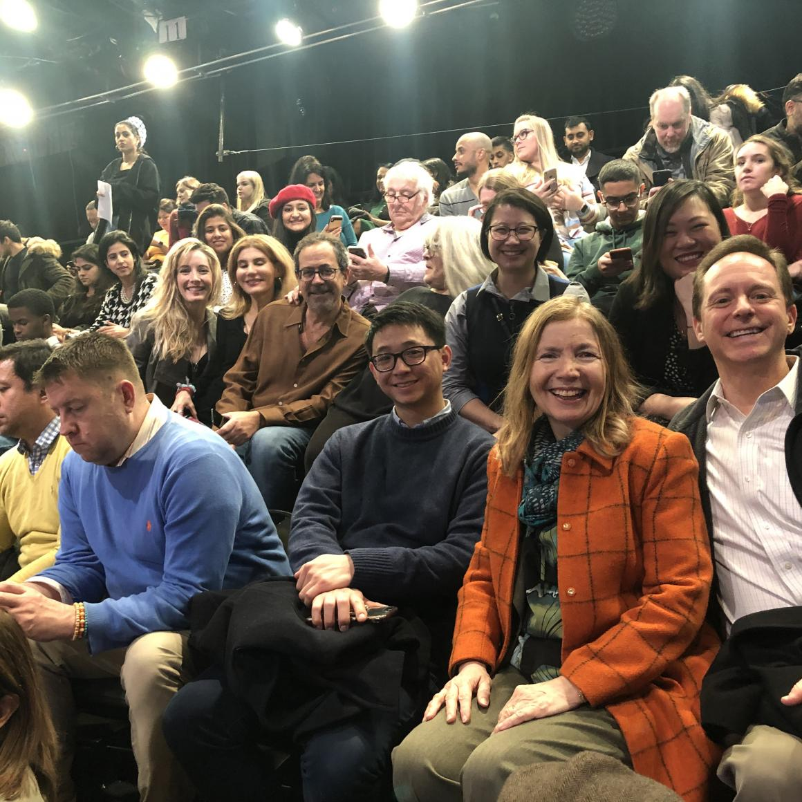 Princeton Alumni of New York City attend Trevor Noah Show