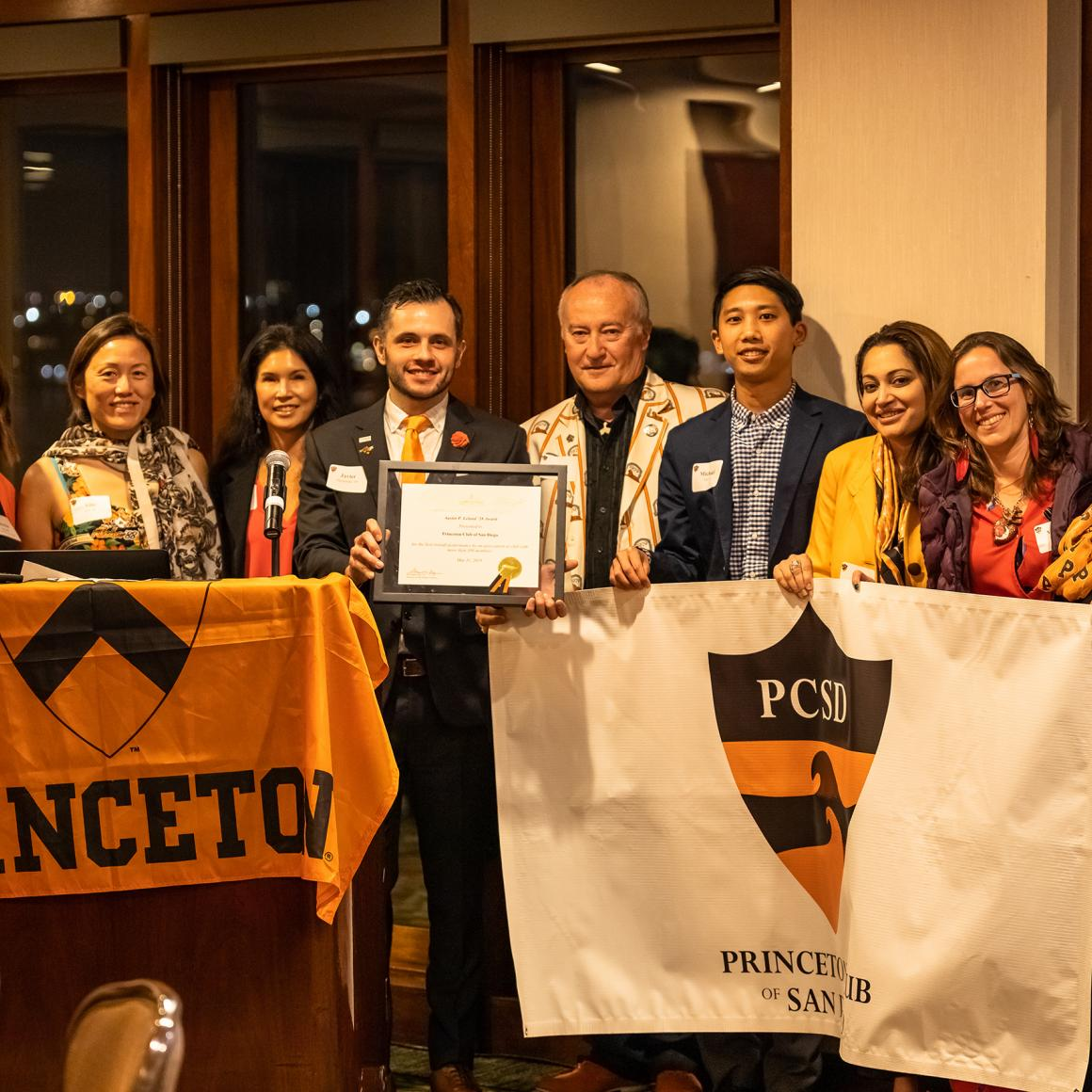 San Diego Princeton Club Award celebration