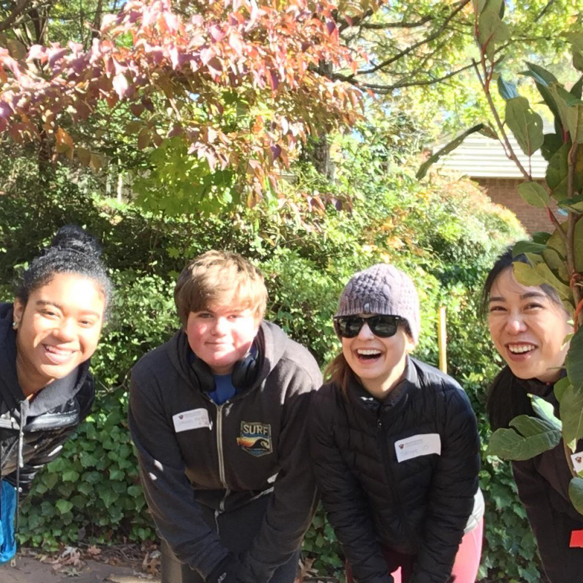 Princeton Women's Network Atlanta Tree Planting