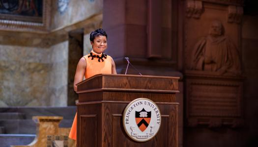 Mellody Hobson at Alumni Day