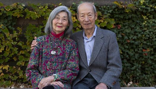 Paula and Gregory Chow, the Class of 1913 Professor of Political Economy, Emeritus